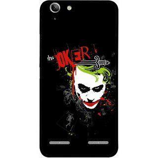 Snooky Printed The Joker Mobile Back Cover For Lenovo Vibe K5 Plus - Multi