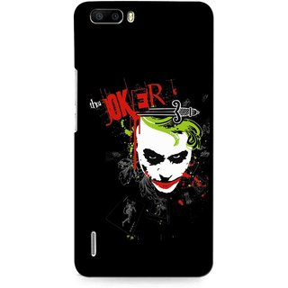 Snooky Printed The Joker Mobile Back Cover For Huawei Honor 6 Plus - Multi