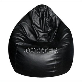 ZOLO BEAN BAG XL SUPERIOR QUALITY (BLACK) COVER ONLY