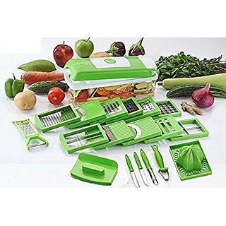 MR 20 in 1 Fruit  Vegetable Graters Slicer juicer Chipser, Dicer, Cutter Chopper Upgraded Deluxe Model