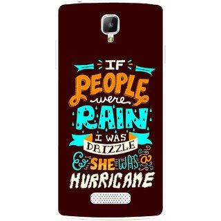 Snooky Printed Monsoon Mobile Back Cover For Oppo Neo 3 R831k - Brown