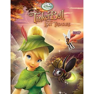 Tinker Bell and the Lost Treasure (Disney Fairies) (Reusable Sticker Book) by GoldenDisney; Stk edition (11 August 2009)