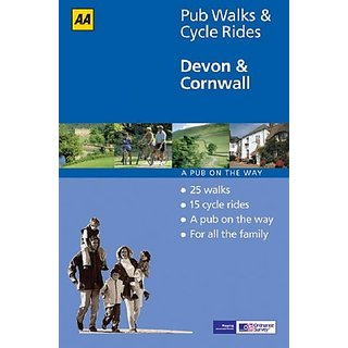 Devon and Cornwall (AA 40 Pub Walks & Cycle Rides) by Automobile Association (15 June 2005)
