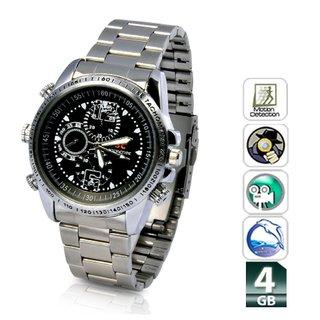Lumina Spy Stylish Wrist Watch with Camera