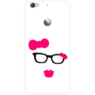 Snooky Printed Pinky Girl Mobile Back Cover For Letv Le 1S - Multi