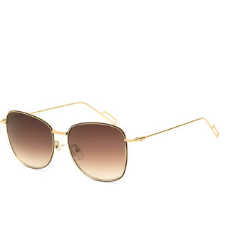 Royal Son Brown UV Protection Square Women Sunglasses