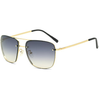 Royal Son Blue UV Protection Square Men Sunglasses