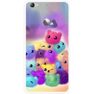 Snooky Printed Cutipies Mobile Back Cover For Letv Le 1S - Multi