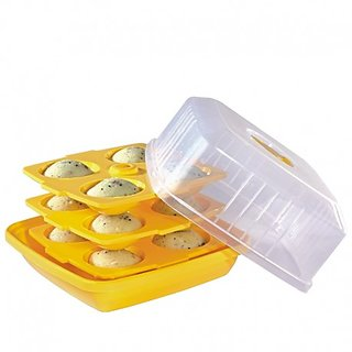 Banqlyn Microwave Idli Maker