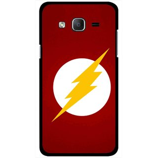 Snooky Printed High Voltage Mobile Back Cover For Samsung Galaxy On5 - Red