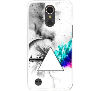 Snooky Printed Math Art Mobile Back Cover For LG K10 2017 - Multi
