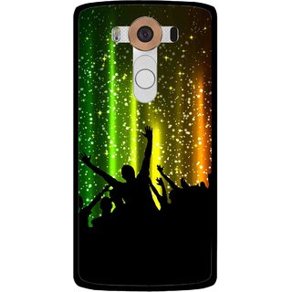 Snooky Printed Party Time Mobile Back Cover For Lg V10 - Multi