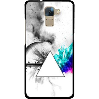 Snooky Printed Math Art Mobile Back Cover For Huawei Honor 7 - Multi