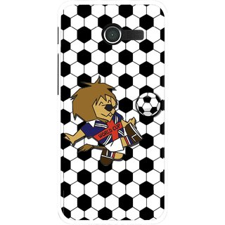 Snooky Printed Football Cup Mobile Back Cover For Asus Zenfone 4 - Multi