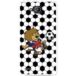Snooky Printed Football Cup Mobile Back Cover For Huawei Honor 3C - Multi