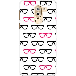Snooky Printed Spectacles Mobile Back Cover For Huawei Honor 6X - Multi