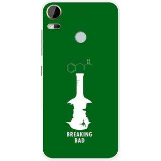 Snooky Printed Breaking Bad Mobile Back Cover For HTC Desire 10 Pro - Green