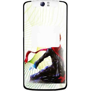 Snooky Printed Stylo Boy Mobile Back Cover For Oppo N1 - Multi