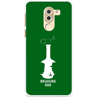 Snooky Printed Breaking Bad Mobile Back Cover For Huawei Honor 6X - Green