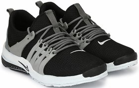 Clymb Mapro Black Grey Running Sports Shoes In Various Sizes