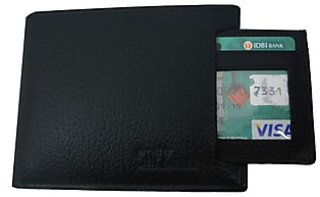 Stylish Men Artificial Leather Wallet (6 Card Slots)