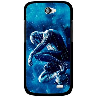 Snooky Printed Blue Hero Mobile Back Cover For Gionee Pioneer P2 - Blue