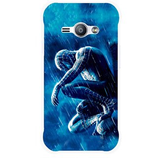 Snooky Printed Blue Hero Mobile Back Cover For Samsung Galaxy Ace J1 - Blue