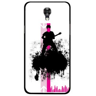 Snooky Printed Music In Air Mobile Back Cover For Lg X Screen - Multi