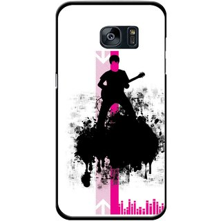 Snooky Printed Music In Air Mobile Back Cover For Samsung Galaxy S7 - Multi