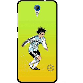 Snooky Printed Focus Ball Mobile Back Cover For HTC Desire 620 - Multi