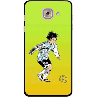 Snooky Printed Focus Ball Mobile Back Cover For Samsung Galaxy J7 Max - Multi