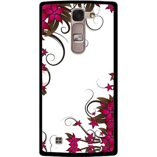 Snooky Printed Flower Creep Mobile Back Cover For Lg Magna - Multi