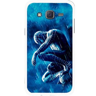 Snooky Printed Blue Hero Mobile Back Cover For Samsung Galaxy J5 - Blue