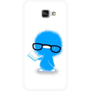Snooky Printed My Teacher Mobile Back Cover For Samsung Galaxy A5 2016 - Multicolour