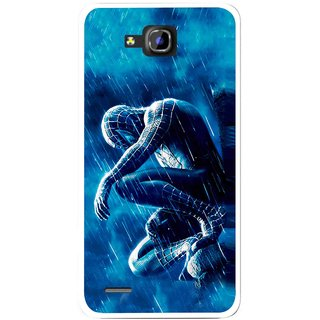 Snooky Printed Blue Hero Mobile Back Cover For Huawei Honor 3C - Blue