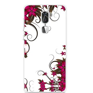 Snooky Printed Flower Creep Mobile Back Cover For Coolpad Cool 1 - Multi