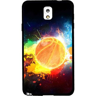 Snooky Printed Paint Globe Mobile Back Cover For Samsung Galaxy Note 3 - Multi