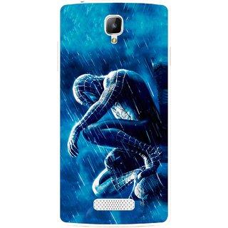 Snooky Printed Blue Hero Mobile Back Cover For Oppo Neo 3 R831k - Blue
