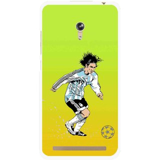 Snooky Printed Focus Ball Mobile Back Cover For Asus Zenfone 6 - Multi