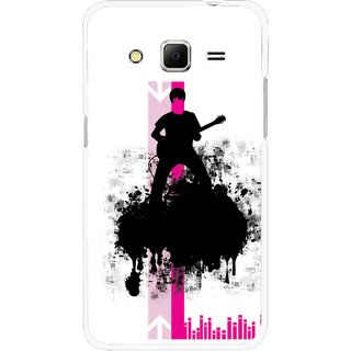 Snooky Printed Music In Air Mobile Back Cover For Samsung Galaxy Core Prime - Multi