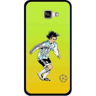 Snooky Printed Focus Ball Mobile Back Cover For Samsung Galaxy A5 2016 - Multi