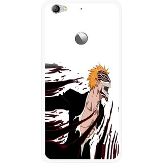 Snooky Printed Angry Devil Mobile Back Cover For Letv Le 1S - Multi