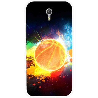 Snooky Printed Paint Globe Mobile Back Cover For Lenovo Zuk Z1 - Multi