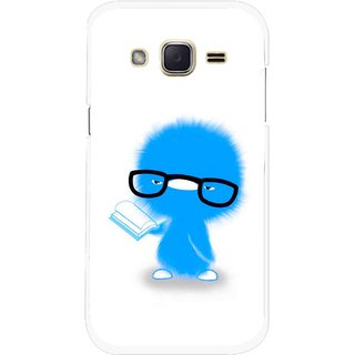 Snooky Printed My Teacher Mobile Back Cover For Samsung Galaxy j2 - Multicolour