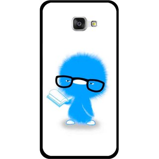 Snooky Printed My Teacher Mobile Back Cover For Samsung Galaxy A7 2016 - Multicolour