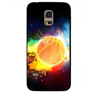 Snooky Printed Paint Globe Mobile Back Cover For Samsung Galaxy S5 Mini - Multi