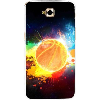 Snooky Printed Paint Globe Mobile Back Cover For Lg G Pro Lite - Multi