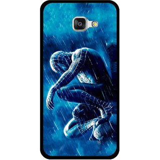 Snooky Printed Blue Hero Mobile Back Cover For Samsung Galaxy A3 (2016) - Blue