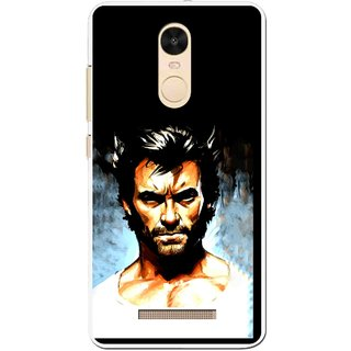 Snooky Printed Angry Man Mobile Back Cover For Gionee S6s - Black
