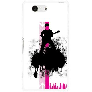Snooky Printed Music In Air Mobile Back Cover For Sony Xperia Z3 Compact - Multi